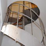Wendeltreppe zum Arbeitszimmer